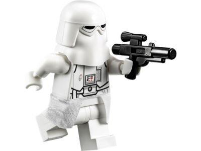 LEGO Star Wars Battle of Hoth Minifigure - Snowtrooper Commander with Blaster Gun (75054)