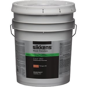 Sikkens SIK240-045 5 Gallon Cetol SRD Exterior Wood Finish Translucent - Mahogany 045