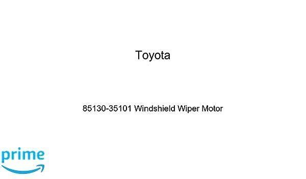 Toyota 85130-35101 Windshield Wiper Motor