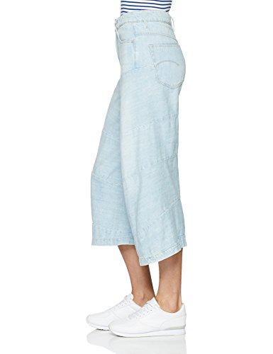 G star Jeans Raw lt 424 Zampa Donna Aged Blu A rwrpqO6