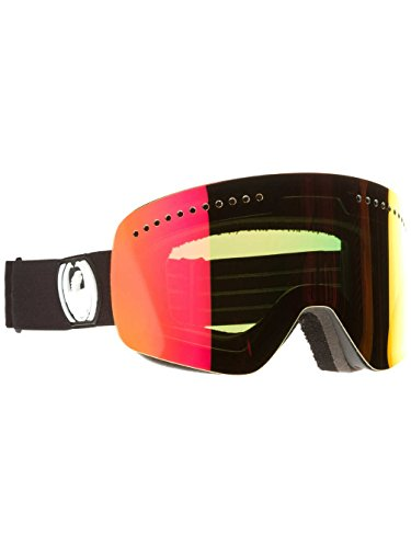 Dragon Alliance NFX Snow Goggles, Coal, Red - Lenses Apx Dragon