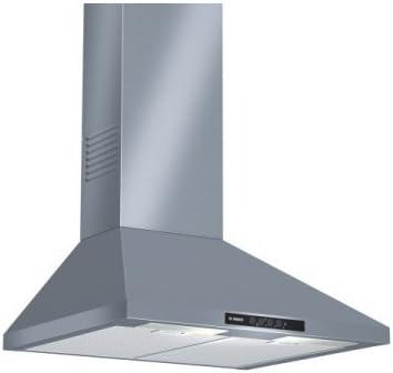 Bosch DWW06W450 - Campana (Canalizado/Recirculación, 400 m³/h, 230 m³/h, Montado en pared, 270 Lux, Acero inoxidable): Amazon.es: Hogar
