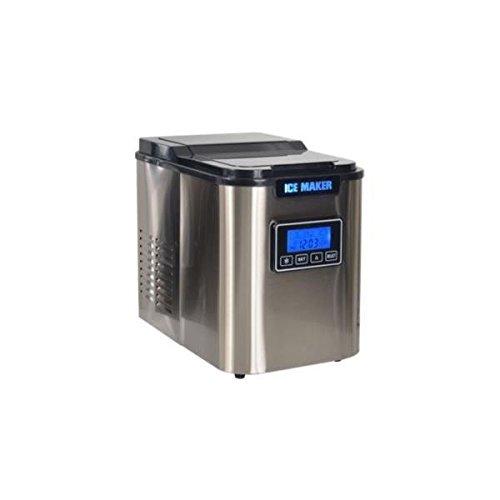Kitchen Chef YTE005CI Machine à Glaçons avec 24 h Ecran LCD 10 Kg 140 W