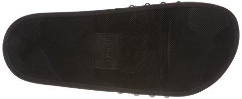 Hugo Uptown Slide-s, Ciabatte Donna Nero (Black 001)