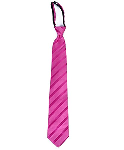 Striped Streamer Micro Woven Zipper Ties (Regular, - Man Streamer