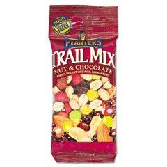-- Trail Mix, Nut & Chocolate, 2oz Bag, 72/Carton