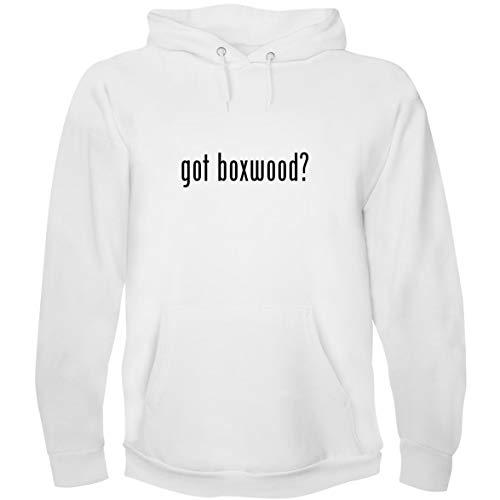 The Town Butler got Boxwood? - Men's Hoodie Sweatshirt, White, X-Large