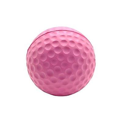 BCQLI Practice Golf Balls, Foam, 12 Count,Pink