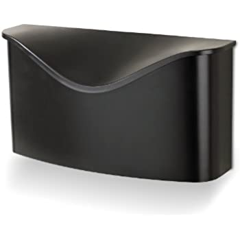 wall mount mailbox placement locking this item umbra black height