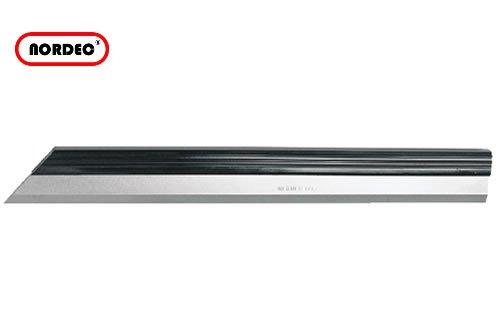 NORDEC Haarlineal ganz gehärtet, EDELSTAHL m. Isoliergriff 500mm in Holzkassette