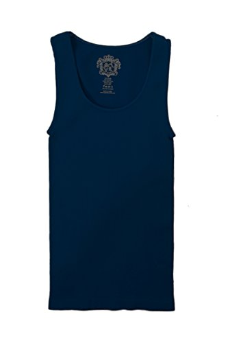 Sugar Lips Original Seamless Tank Top (Standard, Navy) (Sugar Lips Ribbed)