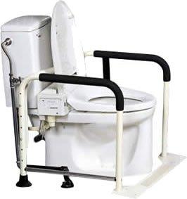 イーストアイ (MW30) トイレの手すり ワイド&菱形タイプ (専用工具付) B000FQ6AKI