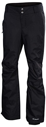 Columbia Womens Arctic Air Omni-Tech Ski Snowboard Pants-Black (SMALL) (Snowboard Black Pants)