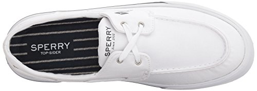 White Hombre Blanco Washed II Bahama Boat Náuticos Sperry 10 White nOBfpwq4