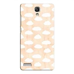 Cover It Up - Cloud Orange Sky Redmi Note 4G Hard Case