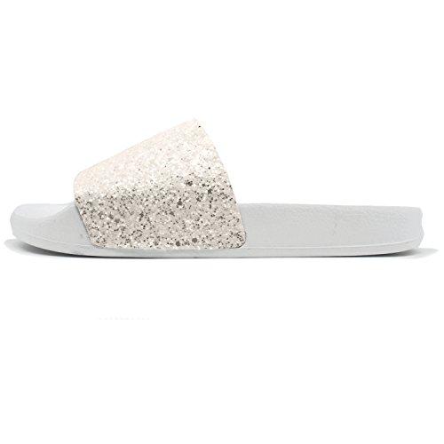 Piatti Pantofole Pelliccia Morbida Coface Eva Sa Con Donna Morbide Glitter Sintetica In Da Sandali CSvnzqdvXw