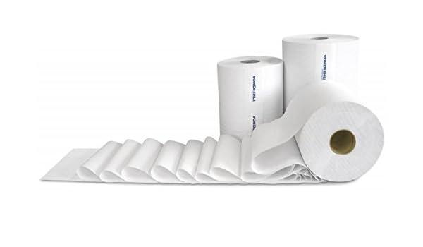 Vondrehle 88115-B - Rollo de toallas de papel para heridas duras con núcleo de 1,625