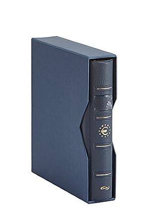 Pardo 170003 - Album para colección monedas euro, color azul: Amazon.es: Oficina y papelería