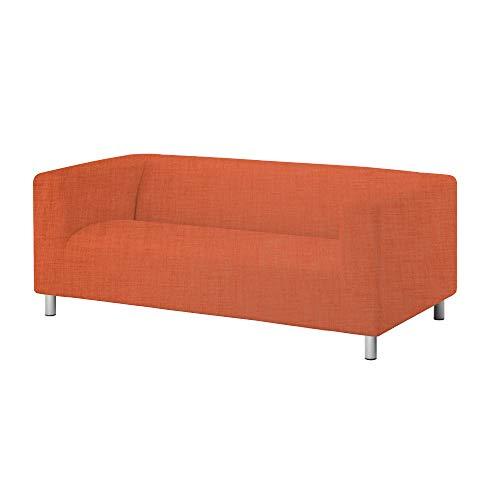 TLYESD Klippan Loveseat Slipcover 15 Colors 3 Material Customized for The IKEA 2 Seater Kilippan Loveseat Sofa Cover Slipcover ()