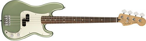 Fender Player Precision Electric Bass Guitar - Pau Ferro Fingerboard - Sea Green Metallic