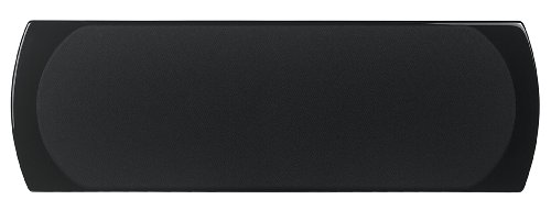 NHT Classic ThreeC Center Channel Speaker (Piano-Gloss Black, Single) by NHT Audio