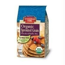 Arrowhead Mills Sprouted Pancake - Arrowhead Mills Sprouted Pancake & Waffle Mix (6x26 Oz) ( Value Bulk Multi-pack)