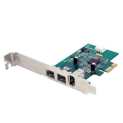 StarTech.com 3 Port 2b 1a 1394 PCI Express FireWire Card Adapter by StarTech