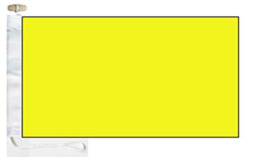 Q Quebec Yellow Quarantine ICS Boat Flag - 1 Yard  - Rope an