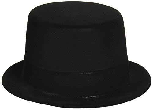 Amscan Glamorous 20's Old Hollywood Themed Party Felt Top Hat Accessories Costume-Others (12 Piece), Black, 4 X -