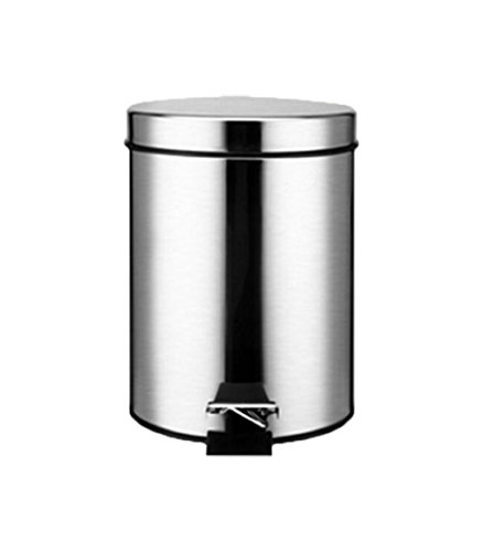 Creative Pedal bin Household stainless steel Trash can Kitch
