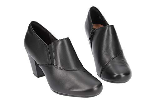 Colette Mujer Zapatos Para Garnit Piel Negro Clarks Cordones De Fz6wqTA