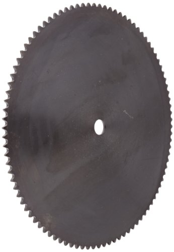 Browning 35A96 Plate Roller Chain Sprocket, Single Strand, Type A Hub, Steel, 5/8