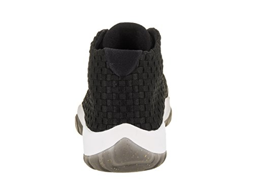 Jordan Nike Heren Air Future Zwart / Zwart / Wit Casual Schoen 10 Heren Ons