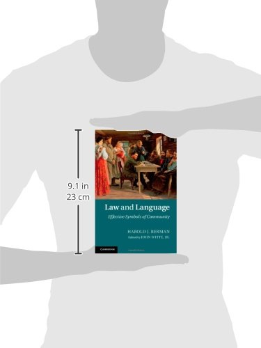 Law and Language: Effective Symbols of Community by Cambridge University Press