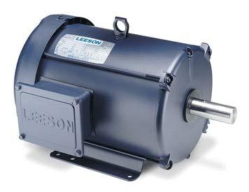 (10 hp 1760 RPM 215T Frame 208-230/460V TEFC Leeson Electric Motor #)