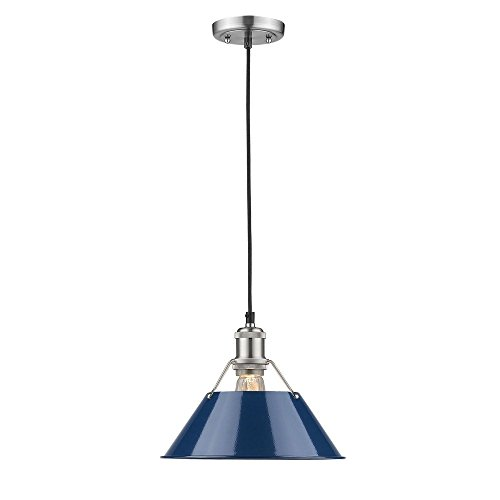 Navy Blue Pendant Light in Florida - 9