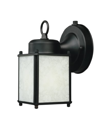 Designers Fountain ES1161-BK Builder-Es Wall Lanterns, Black by Designers Fountain