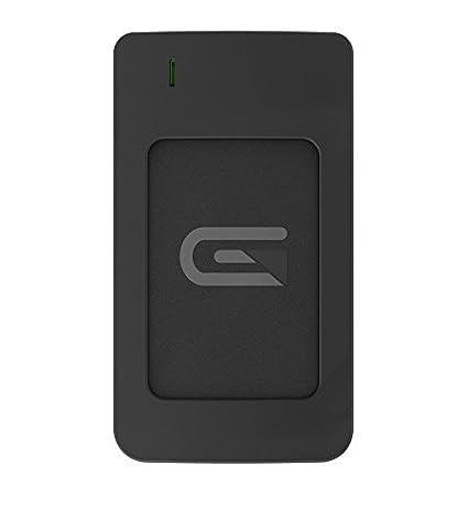 Glyph 1 TB Atom RAID USB 3 1 Type-C External Solid State Drive - Black