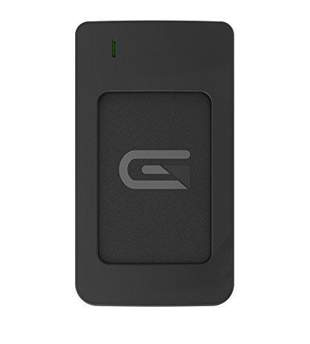 Glyph 1 TB Atom RAID USB 3.1 Type-C External Solid State Drive  - Black