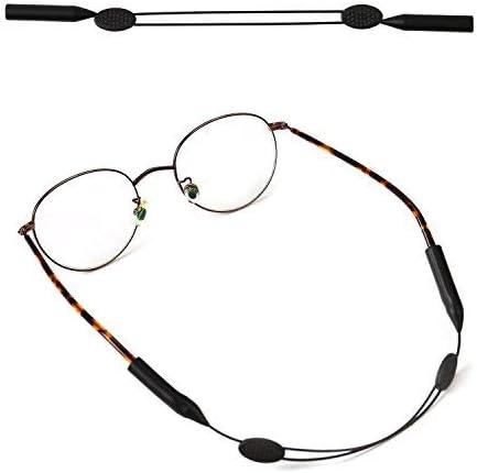 Senza Coda Occhiale per Occhiali Fermo per Occhiali TAGVO Cordino per Occhiali 3 pacchi con Un Panno per la Pulizia degli Occhiali