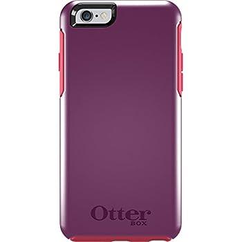 "OtterBox SYMMETRY SERIES Case for iPhone 6/6s (4.7"" Version) - Retail Packaging - DAMSON BERRY (DAMSON PURPLE/BLAZE PINK)"