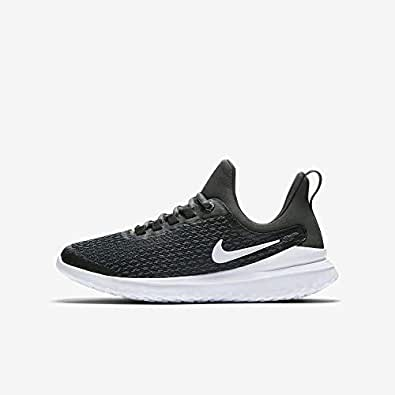 Nike Australia Boys Renew Rival (GS) Fashion Shoes, Black/White-Anthracite, 5 US