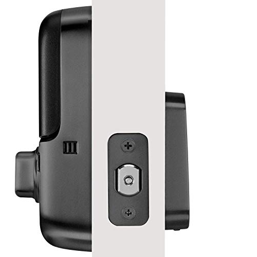 Yale Assure Lock SL, Wi-Fi and Bluetooth Deadbolt - Works with Amazon Alexa, Google Assistant, HomeKit, Airbnb and More - Black Suede