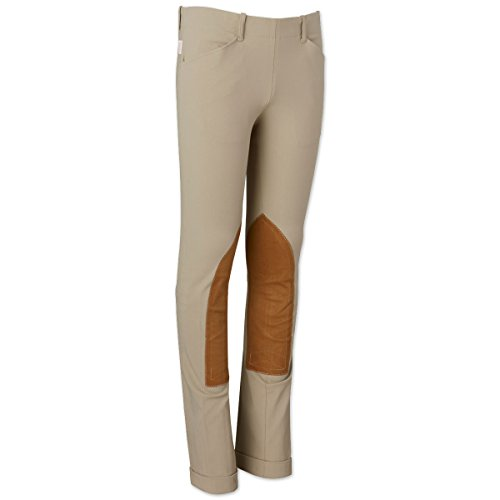 Tailored Sportsman Trophy Hunter Low Rise Breeches Side Zip Breeches (Tan, 26L)