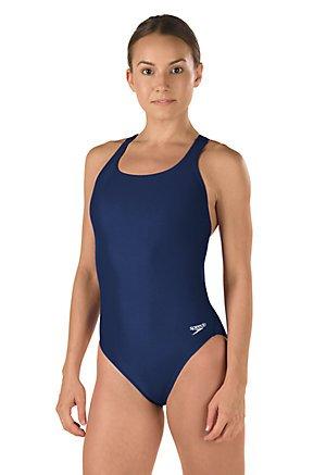 Speedo Race Xtra Life Lycra Solid Super Pro Swimsuit, Black, - Shorts Ready Race Sale