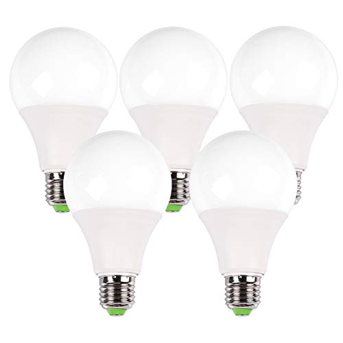 B-Right LED Light Bulb 40 Watts Equivalent, 400lm, Warm White 3000K, Non-Dimmable, E27 Base, 5-Pack Review