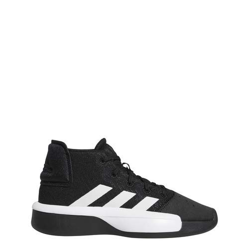 adidas Unisex Pro Adversary 2019, Black/White/Grey, 5 M US Big Kid