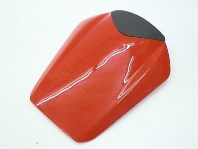 (FATExpress Motorcycle Red Rear Passenger Pillion Seat Cowl Pad Hard ABS Motor Fairing Tail Cover for 2008-2014 Honda CBR1000RR CBR 1000 RR 1000RR 2009 2010 2011 2012 2013 08-14 Repsol)