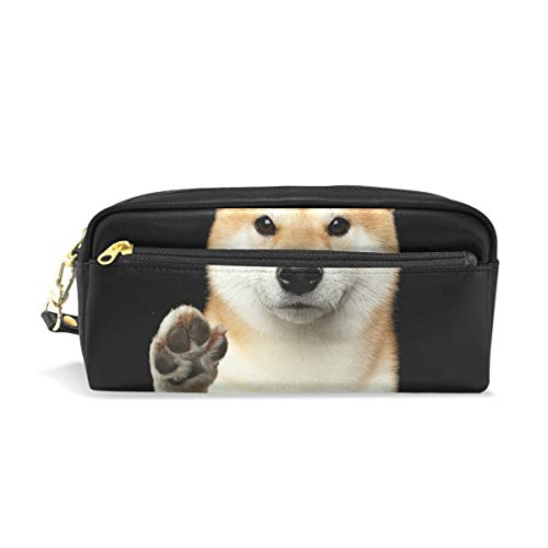 My Daily Cute Shiba Inu Dog Pencil Case Pen Bag Pouch Coin Purse Cosmetic Makeup Bag