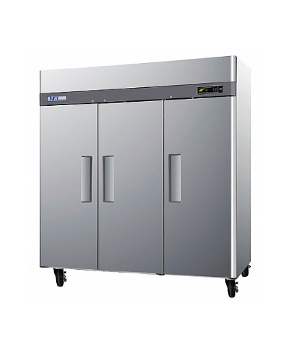 Turbo Air M3F72-3, 3 Door, 72 cu ft Reach-In Freezer